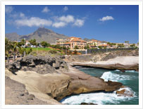 Costa Adeje di Tenerife, Playa de Las Americas, Los Cristianos, Puerto de La Cruz, Santa Cruz e molte altre destinazioni Tenerife e sedi