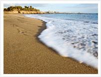 Plaży w Costa Adeje