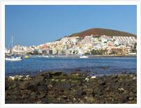 Los Cristianos, località Tenerifes rilassante sulla Costa Sud