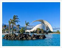 Santa Cruz, nel nord dell'isola, è la capitale di Tenerife