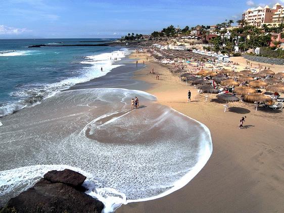 Tenerife tengerparti strandjai