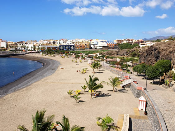 , Tenerife tengerparti strandjai